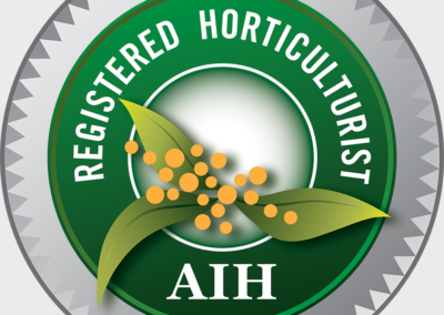 Australian Institute of Horticulture Greg Moreton Registered Horticulturist